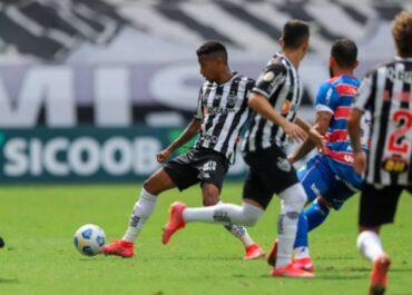 Atlético-MG x Fortaleza: prováveis times e desfalques do jogo de ida da semifinal da Copa do Brasil