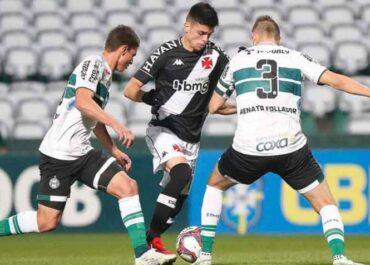 Vasco x Coritiba: onde assistir, prováveis times